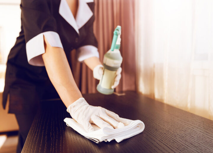 HOW WE CLEAN YOUR GUEST ROOM